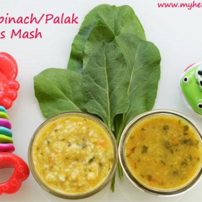 Spinach Pulses Mash