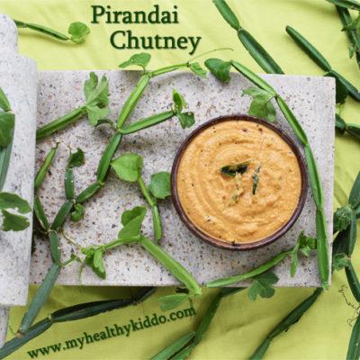 Hadjod/Pirandai Chutney | Calcium rich food