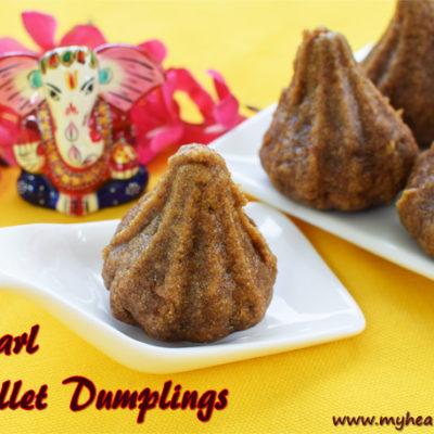 Pearl Millet Modak | Kambu Kozhukattai Recipe