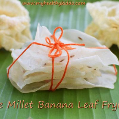 Little Millet Fryums | Saamai ilai Vadagam