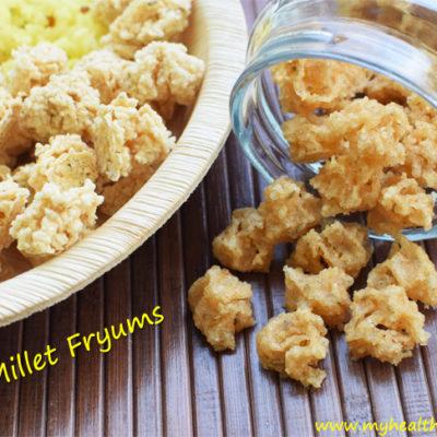 Kodo Millet Fryums – Varagu Vadagam Recipe