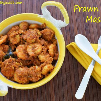 Prawn Masala | Prawn Semi-dry gravy Recipe | Eraal Pirattal