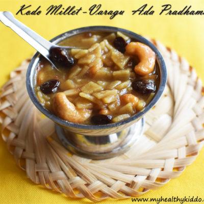 Kodo Millet Ada Prathaman Recipe | Varagu Ada Pradhaman for Onam