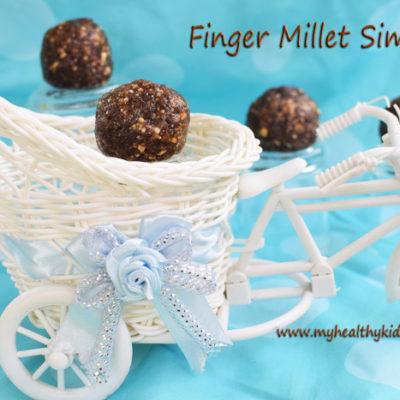 Finger Millet Laddoo | Ragi Chimli Recipe | Ragi Simili Urundai | Ragi Simli | Ragi Laddu