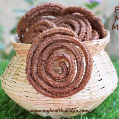 Finger Millet Murukku Recipe | Ragi Murukku | Deepavali Palagaaram