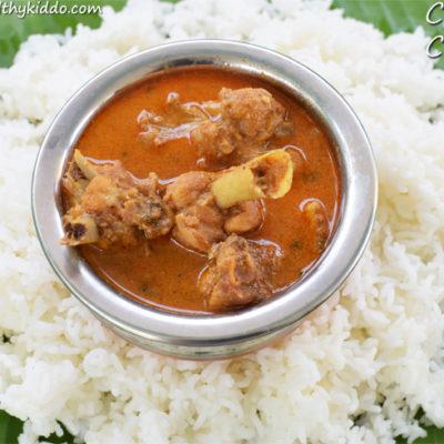 Naatu kozhi kuzhambu | Chicken kuzhambu | Country Chicken gravy recipe