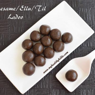 Sesame Ladoo | Ellu Urundai | Til Ladoo | Black Sesame Balls Recipe | Karuppu Ellu Laddu