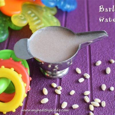 barley water for babies | barley porridge recipe