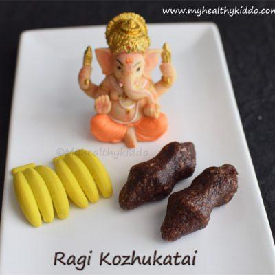 Ragi kozhukattai recipe | how to make sweet ragi kozhukattai | Finger Millet Dumplings