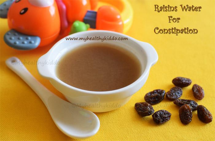 raisin constipation