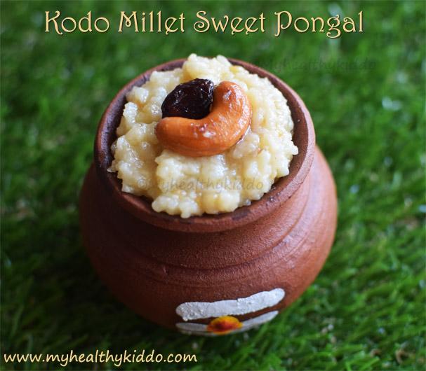 Kodo millet sweet pongal recipe
