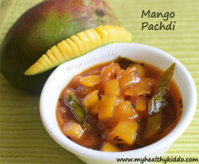 mango pachdi recipe