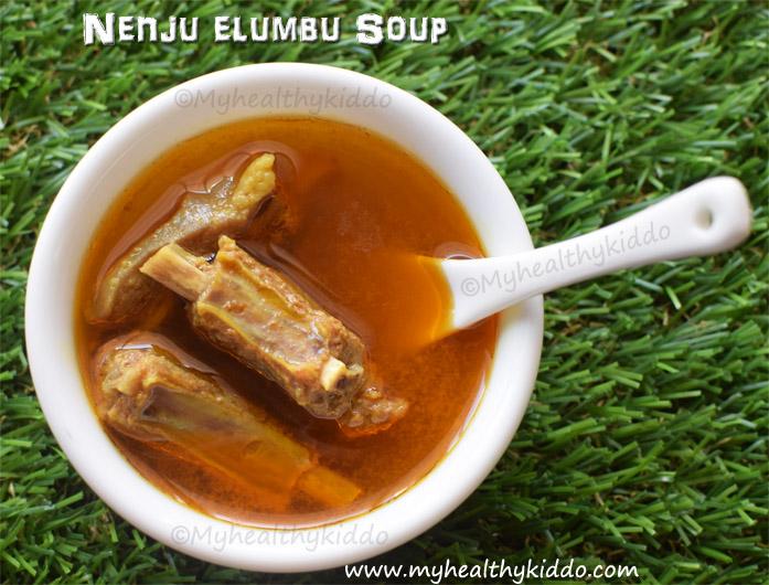 nenju elumbu soup