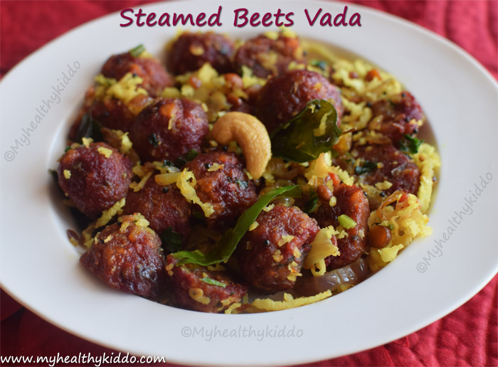 steamed beets vada