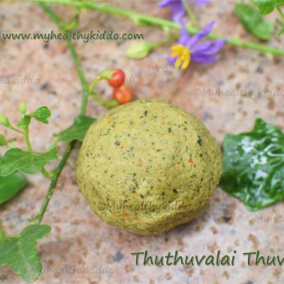 thudhuvalai thuvaiyal recipe