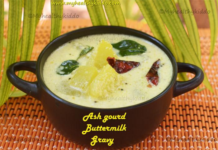 ash gourd buttermilk gravy
