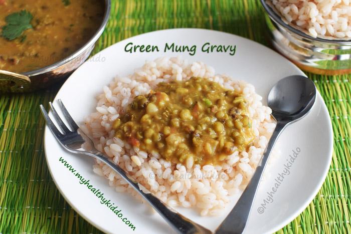 green mung gravy