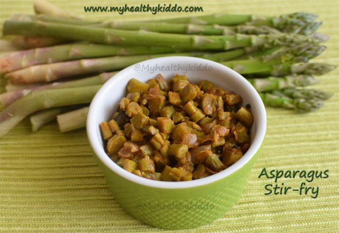 asparagus stir fry recipe
