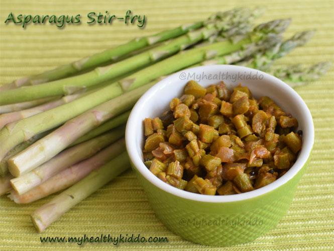 asparagus stirfry