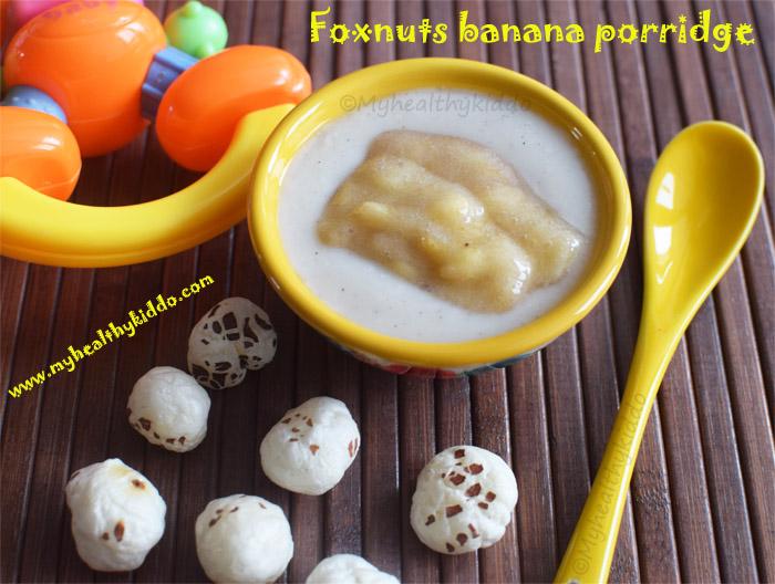 foxnut porridge for babies