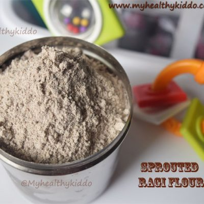 Sprouted ragi flour using mixie | How to make sprouted ragi powder at home ?