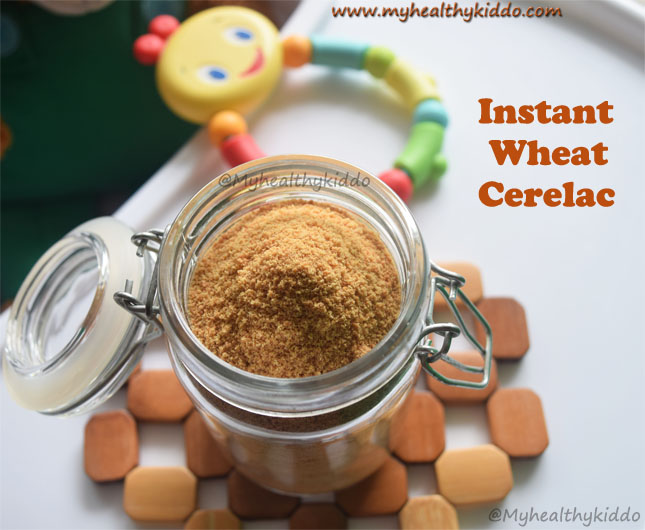 Instant wheat cerelac recipe