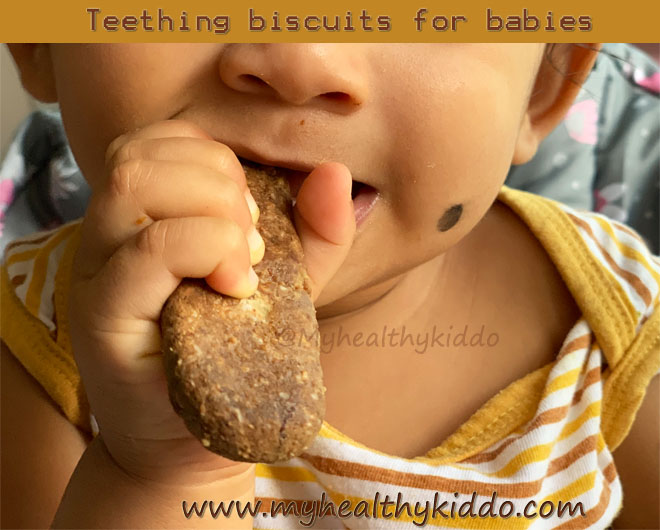 Teething biscuit recipe for babies