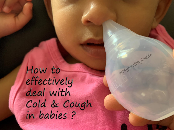 Cold and cough for babies home remedies